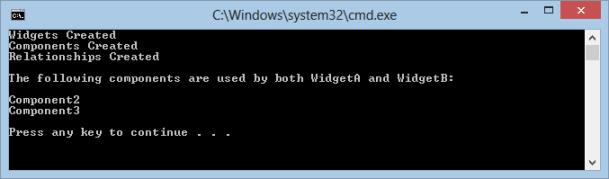 Neo4j Widget CMD